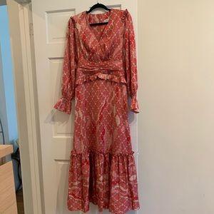 Three Floor Maxi Dress Never Worn